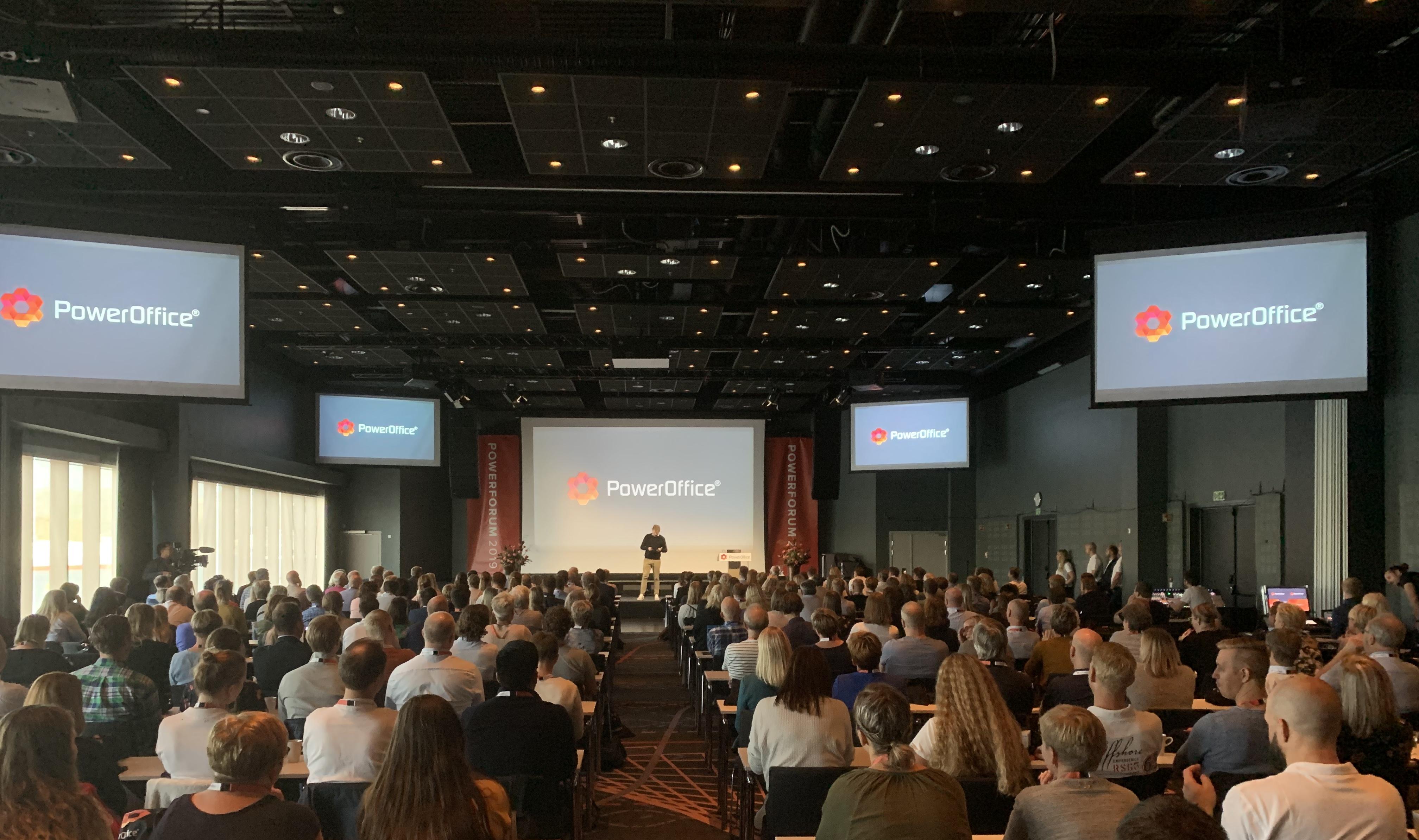 CostTracker på Poweroffice sitt årlige Powerforum